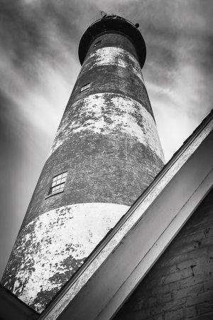 A view from below the Assateague Lighthouse-Chincoteague, Virginia