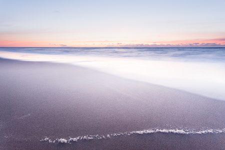 Serene beach sunrise. Virginia Beach, Virginia.