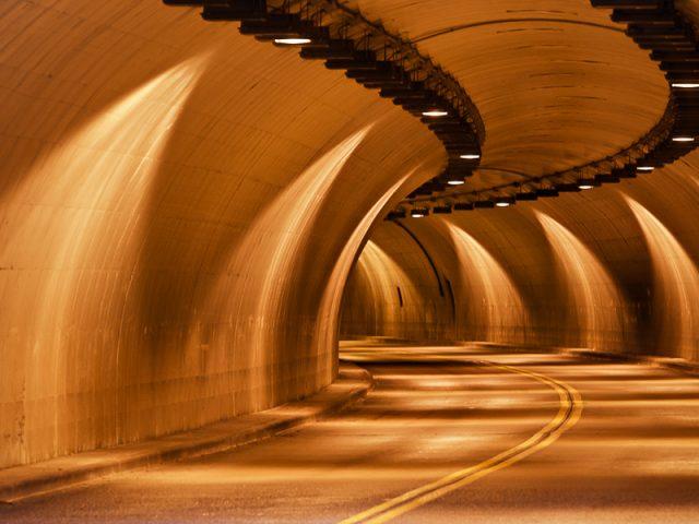 Colonia Parkway Williamsburg Tunnel. Williamsburg, Virginia.