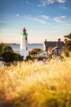 Old Point Comfort Lighthouse Fort Monroe Hampton Virginia